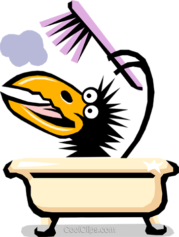 Crows Royalty Free Vector Clip Art illustration cart1453