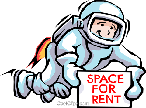 Spaceman Royalty Free Vector Clip Art illustration cart1471