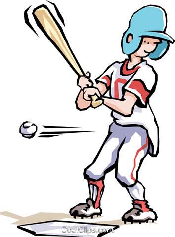 Baseball Royalty Free Vector Clip Art illustration cart1473