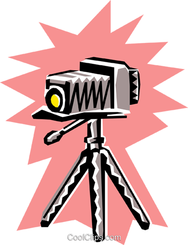 Cameras Royalty Free Vector Clip Art illustration hous0832