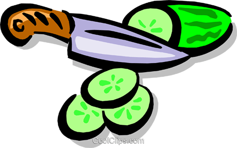 Cucumbers Royalty Free Vector Clip Art illustration food0701