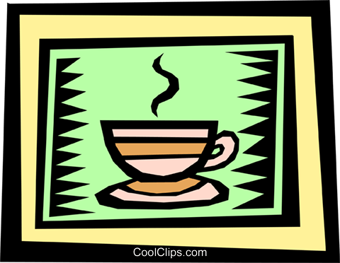 Coffee Royalty Free Vector Clip Art illustration food0703