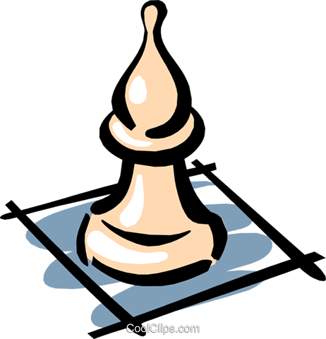 Chess pieces Royalty Free Vector Clip Art illustration hous0843