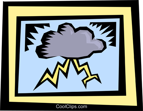 Clouds Royalty Free Vector Clip Art illustration natu0608