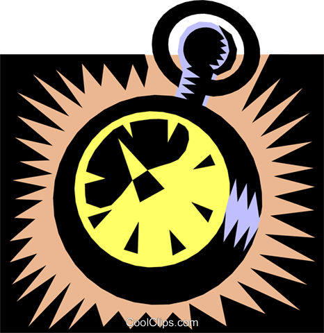 compass Royalty Free Vector Clip Art illustration busi0869