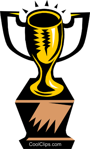 trophy/cup Royalty Free Vector Clip Art illustration busi0892