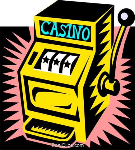 Slot Machine Vektor Clipart Bild busi0903