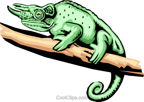 lizard Royalty Free Vector Clip Art illustration anim1371