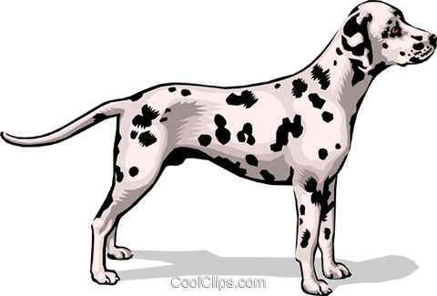 Dog Royalty Free Vector Clip Art illustration anim1390