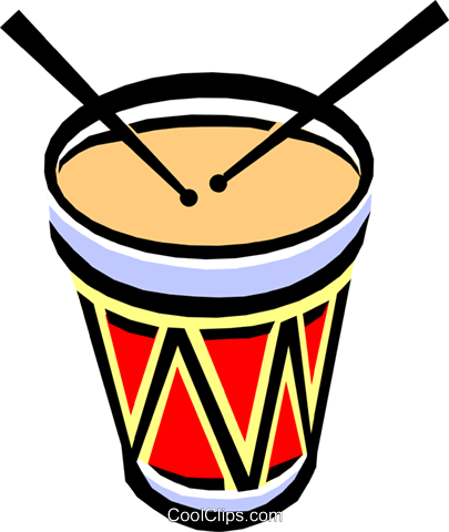 drum Royalty Free Vector Clip Art illustration arts0318