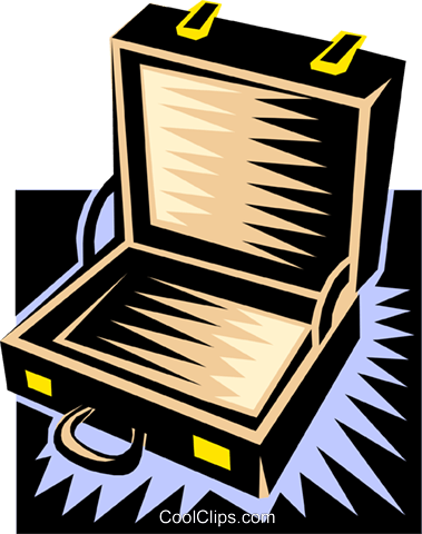 suitcase Royalty Free Vector Clip Art illustration busi0926