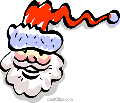 Santa Clause Royalty Free Vector Clip Art illustration even0627