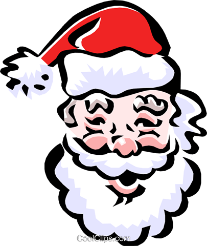 Santa Claus Royalty Free Vector Clip Art illustration even0632