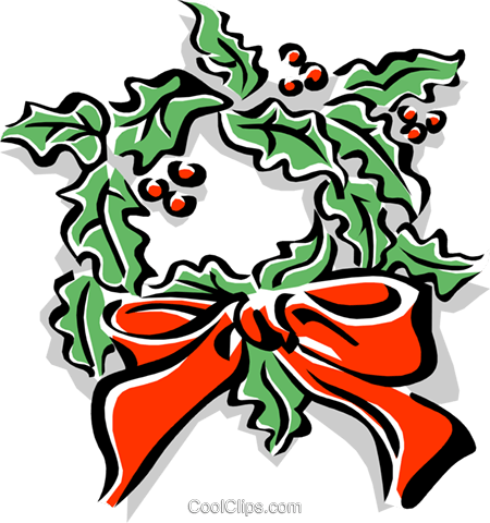 Christmas decorations Royalty Free Vector Clip Art illustration even0633