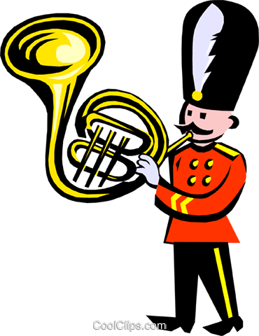 royal band Royalty Free Vector Clip Art illustration even0639