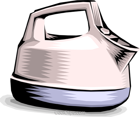 Kettle Royalty Free Vector Clip Art illustration hous0889