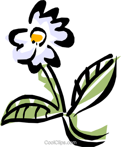 flower Royalty Free Vector Clip Art illustration natu0627