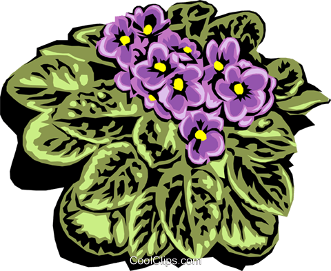 Colorful plant Royalty Free Vector Clip Art illustration natu0632