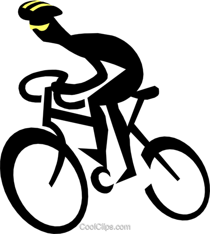 Cycling Royalty Free Vector Clip Art Illustration Peop1735