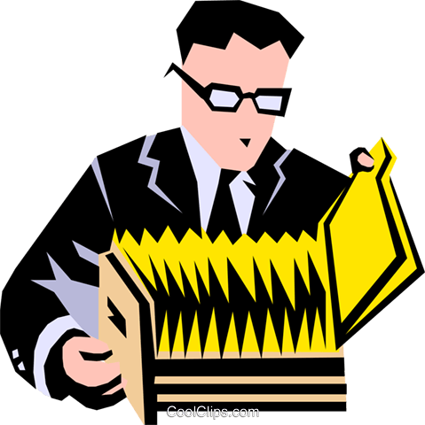 man at filing cabinet Royalty Free Vector Clip Art illustration peop1762