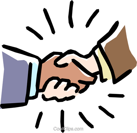 handshake Royalty Free Vector Clip Art illustration hand0231