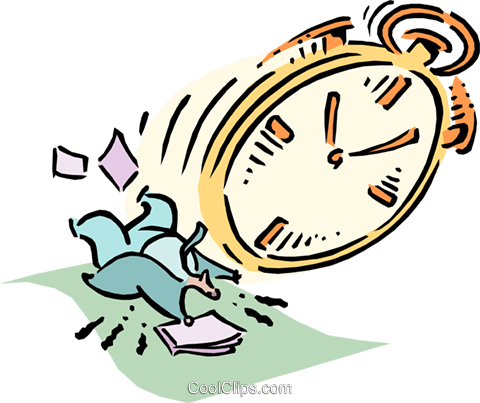 time management royalty free vector clip art illustration cart1814 rh search coolclips com  bad time management clipart