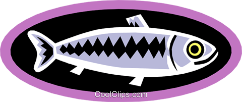 fish Royalty Free Vector Clip Art illustration anim1408