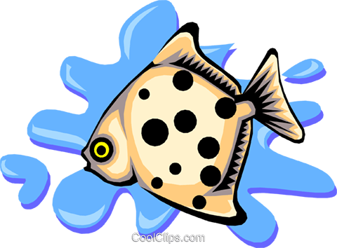 fish Royalty Free Vector Clip Art illustration anim1416