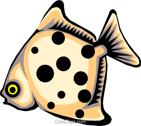 fish Royalty Free Vector Clip Art illustration anim1429
