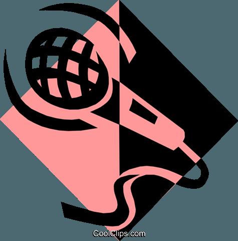 Mikrofon Symbol Vektor Clipart Bild -arts0362-CoolCLIPS.com
