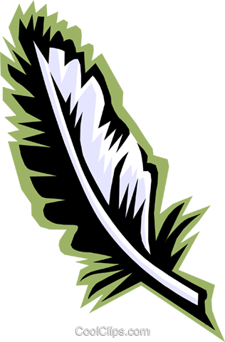feather Royalty Free Vector Clip Art illustration busi0969