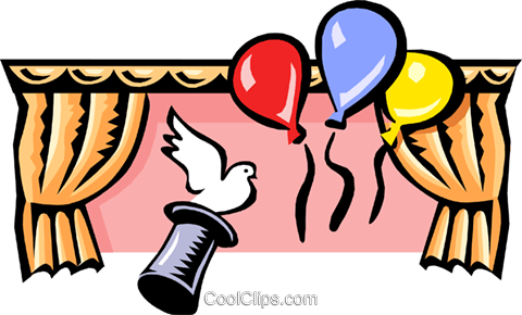 party/magic Royalty Free Vector Clip Art illustration even0658