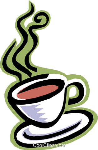 food and dining, cup of coffee Royalty Free Vector Clip Art illustration food0730