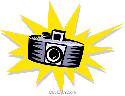 camera Royalty Free Vector Clip Art illustration hous0907
