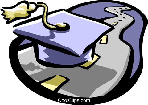 Education planning Royalty Free Vector Clip Art illustration busi1011