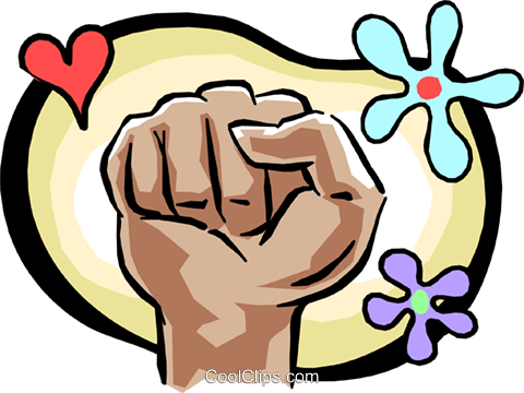 fist Royalty Free Vector Clip Art illustration hand0237