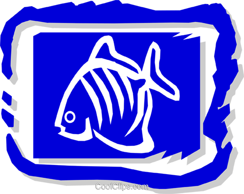 fish Royalty Free Vector Clip Art illustration anim1442