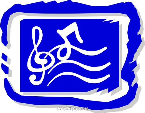 musical symbol Royalty Free Vector Clip Art illustration arts0413