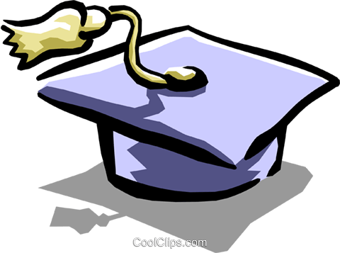 Mortarboard Royalty Free Vector Clip Art illustration busi1075