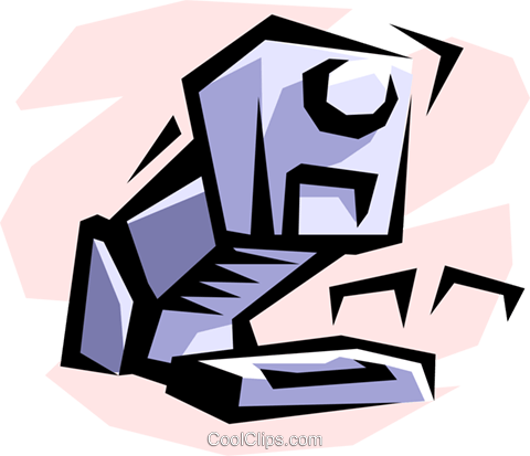 stapler Royalty Free Vector Clip Art illustration busi1130