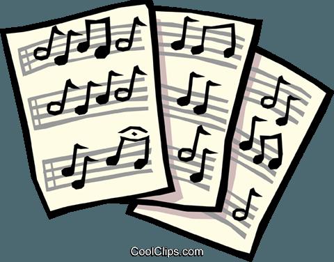 sheet music royalty free vector clip art illustration arts0437 rh search coolclips com blank sheet music clipart sheet music clipart images