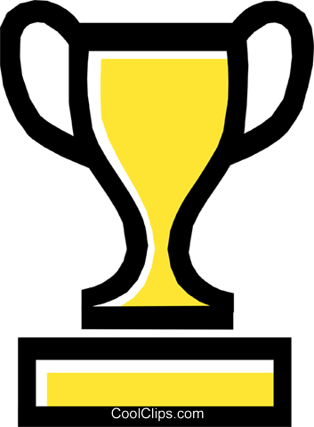 trophy/cup Royalty Free Vector Clip Art illustration spor0203