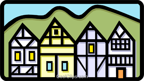 buildings Royalty Free Vector Clip Art illustration arch0378