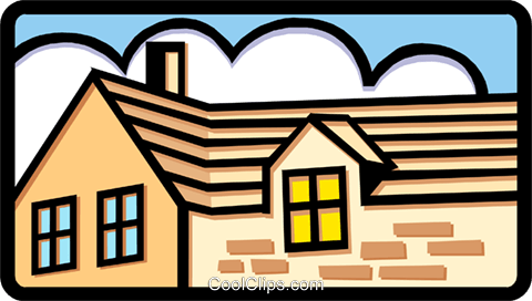 house Royalty Free Vector Clip Art illustration arch0380