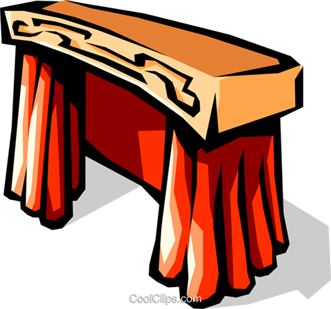 Podest Vektor Clipart Bild arts0442