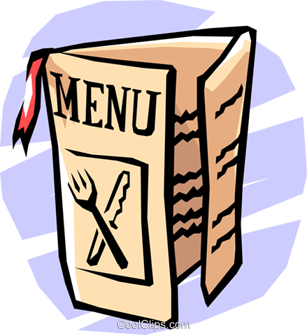 menu Royalty Free Vector Clip Art illustration busi1172