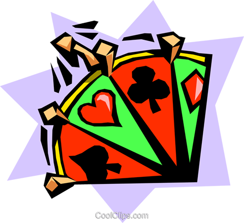crown and archer wheel of chance Royalty Free Vector Clip Art illustration busi1182