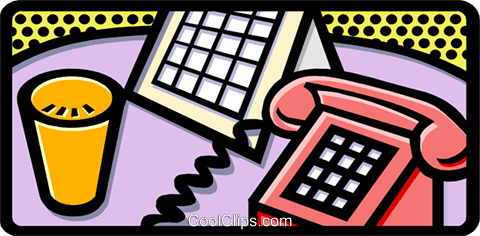phone Royalty Free Vector Clip Art illustration busi1189