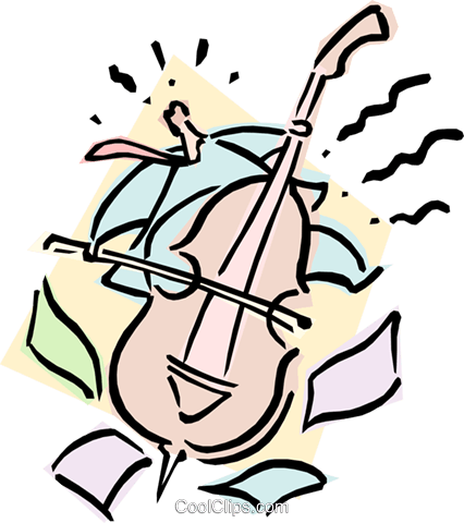 musician/bass Royalty Free Vector Clip Art illustration cart1875