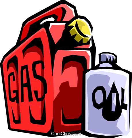gas can Royalty Free Vector Clip Art illustration envi0197